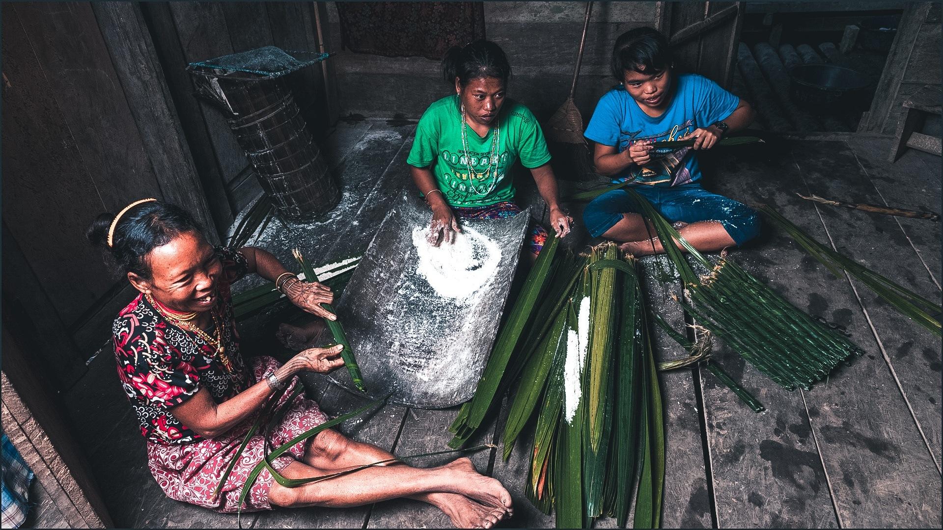 Mentawai arbeiten Sumatra